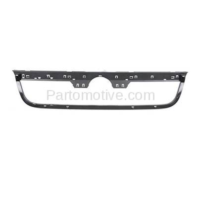 GRL-2631 96-99 VW Jetta Front Outer Grill Grille Black