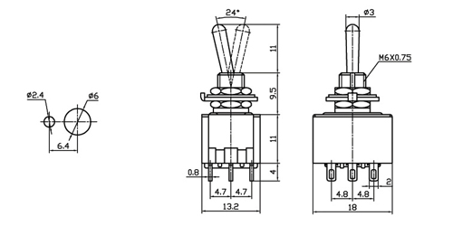 Peerless 850489 Hds 5-1/4 Woofer W/phase Plug