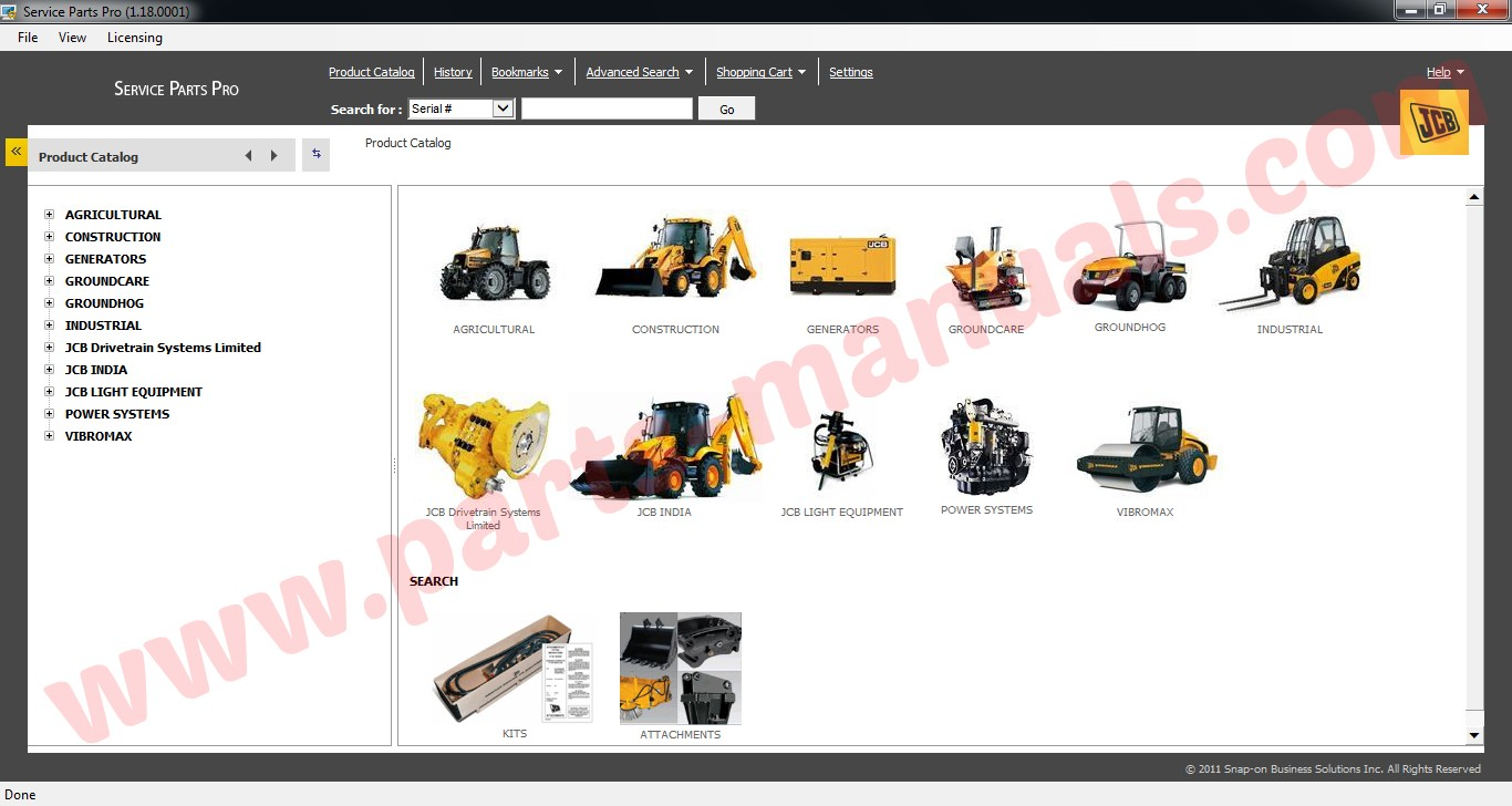 hight resolution of jcb service parts pro 2015 service manual
