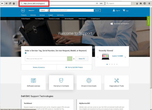 small resolution of navigating support dell com to find your laptop specs and part numbers using your service tag