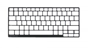 Dell Latitude E7250 (P22S002) Keyboard Bezel Removal and