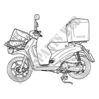 2014 LIBERTY 50 PIAGGIO SCOOTER Piaggio scooters # Piaggio