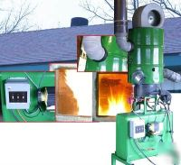 Waste oil heater furnace plans burns all waste oil