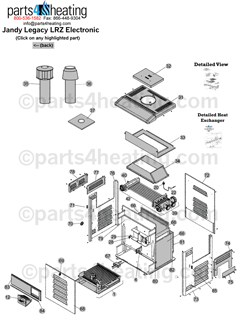 Parts4heating.com: Jandy Legacy LRZE 325