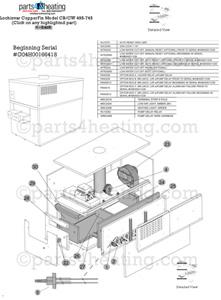 Parts4heating.com: Lochinvar Copper Fin CB 745 Hydronic