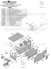Parts4heating.com: Pool Heaters Lochinvar Copper Fin II