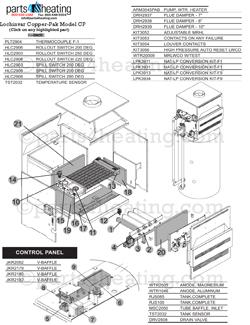 Parts4heating.com: Lochinvar Copper-Pak CP Water Heater Parts