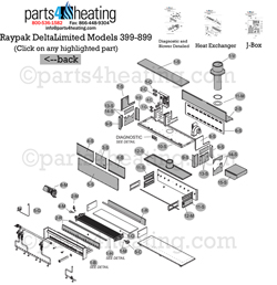 Parts4heating.com: Raypak Delta Limited H3