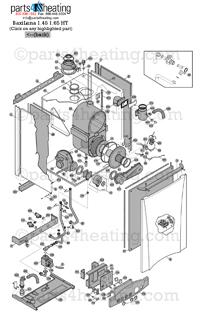 Parts4Heating.com: Baxi Luna HT 1.650 Parts