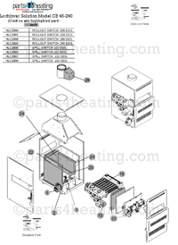 Boiler Parts: Crown Boiler Parts List