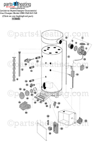 Parts4heating.com: Lochinvar Super Charger Water Heater Parts