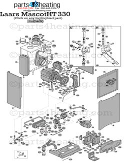 Parts4heating.com: Teledyne Laars Mascot Boiler HT 330