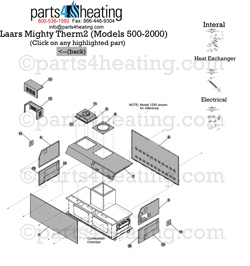 Parts4Heating.com: Laars MT2V 2000
