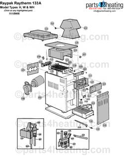 Parts4heating.com: Raytherm H-0133A