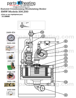 Parts4Heating.com: Laars Summit Water Heater Parts