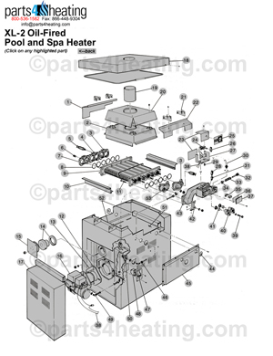 Pool Heaters Teledyne Laars XL-2