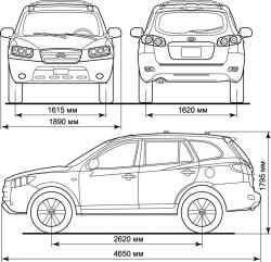 Руководство по ремонту Hyundai Santa Fe (Хендай Санта Фе