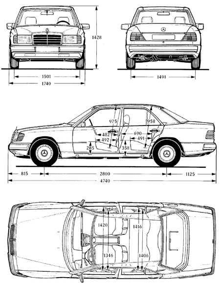 Руководство по ремонту Mercedes-Benz W124 (Мерседес Бенц