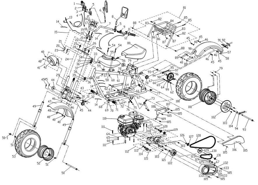 Alpha Sports Atv Wiring Diagram. Diagram. Auto Wiring Diagram