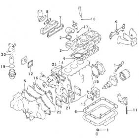 Mitsubishi K3D Engine Rebuilt Kit for Excavator and