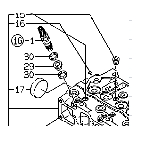 Yanamr Engine Fuel Injector Protector and Gasket washer
