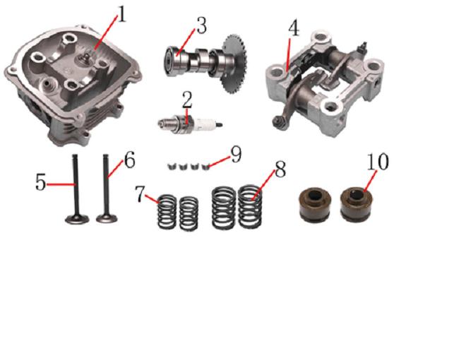 125cc-150cc Cylinder Head Assy