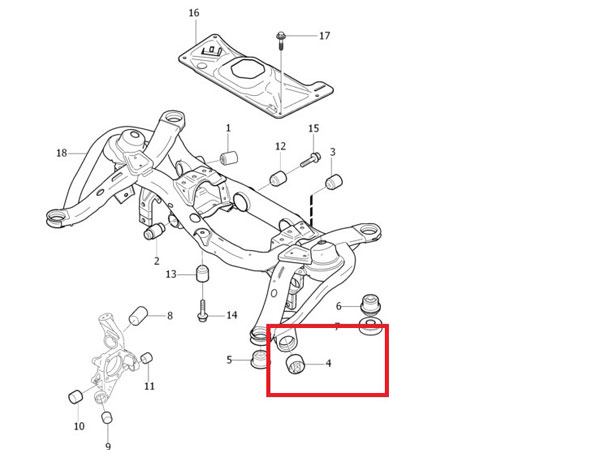 URO Suspension Ball Joint fits 20032014 Volvo XC90