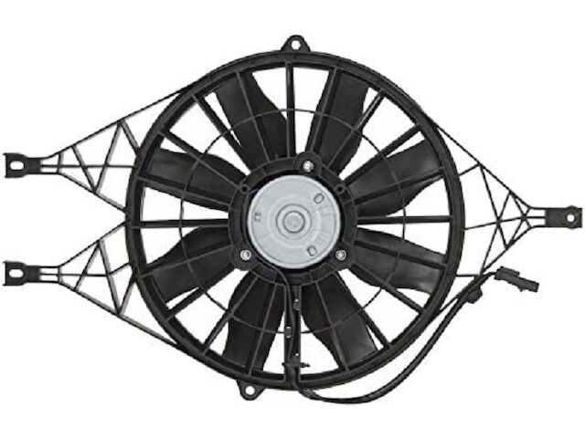 For 1997-2004 Dodge Dakota Radiator Fan Assembly 89111QW