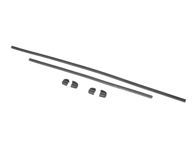 For 2011-2016 BMW 535i xDrive Wiper Blade Insert Set Front