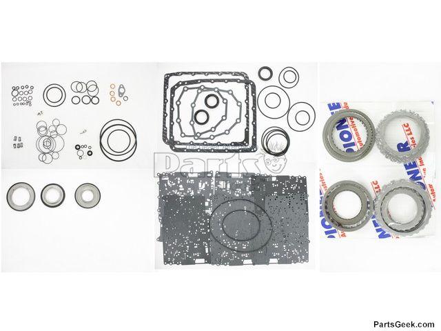 07 2007 Nissan Frontier Auto Trans Master Repair Kit