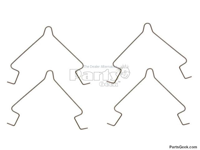 06 2006 Ford Crown Victoria Disc Brake Pad Drag Reduction
