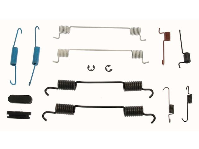 For 2014-2015 Mitsubishi Mirage Drum Brake Hardware Kit