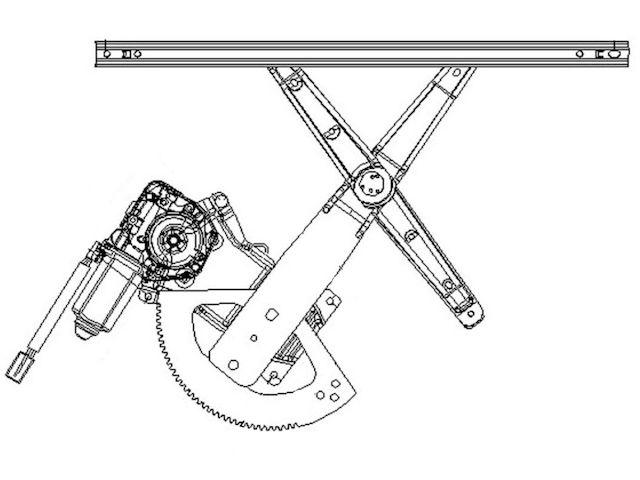 For 2001-2005 Ford Explorer Sport Trac Window Regulator