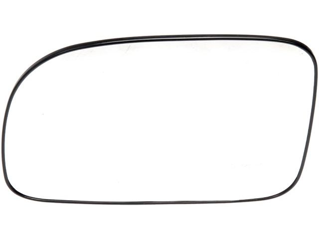 For 2007-2009 Hyundai Santa Fe Door Mirror Glass Left