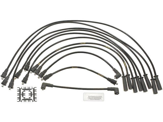 For 1976-1981 Jeep CJ7 Spark Plug Wire Set SMP 49628WS