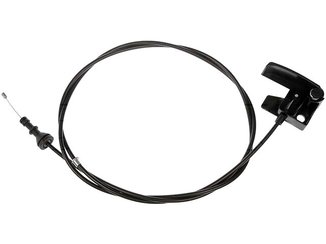 Fits 1995-1999 GMC K1500 Hood Release Cable Dorman 27234JS