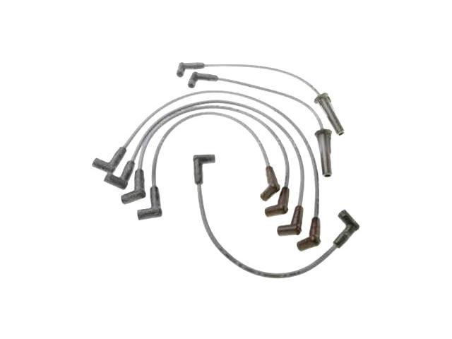 For 1975-1977 GMC P35 Spark Plug Wire Set SMP 35622RJ 1976