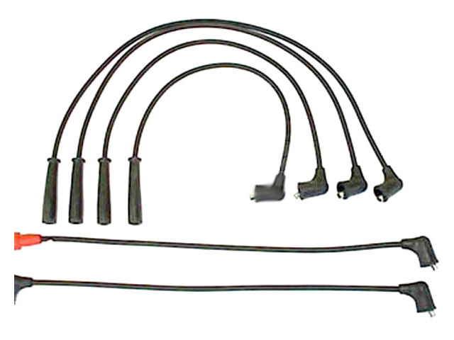 For 1995-1997 Geo Metro Spark Plug Wire Set Denso 12534RG