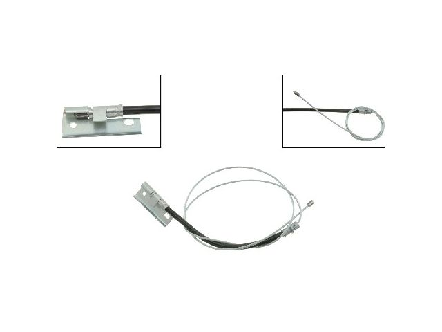 For 1993-1996 Lincoln Mark VIII Parking Brake Cable Front