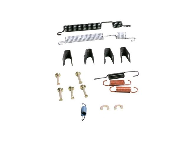 For 1984-1995 Honda Civic Drum Brake Hardware Kit Rear