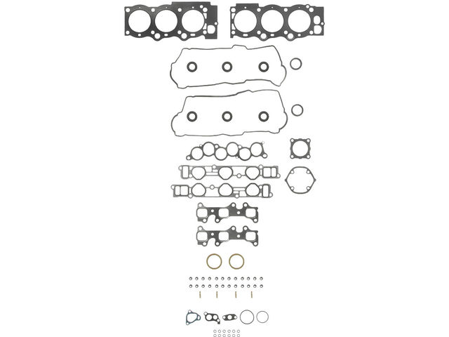 Fits 1992-1993 Toyota Camry Head Gasket Set APEX 99618QY 3