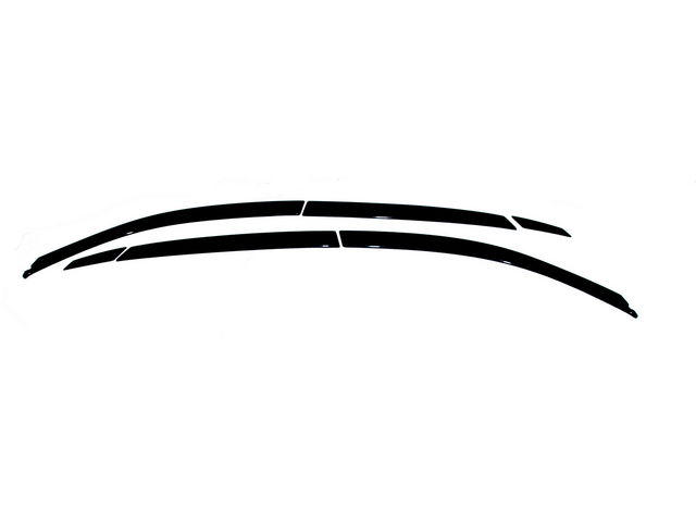 For 2003-2008 Infiniti FX35 Window Vent Visors Ventshade