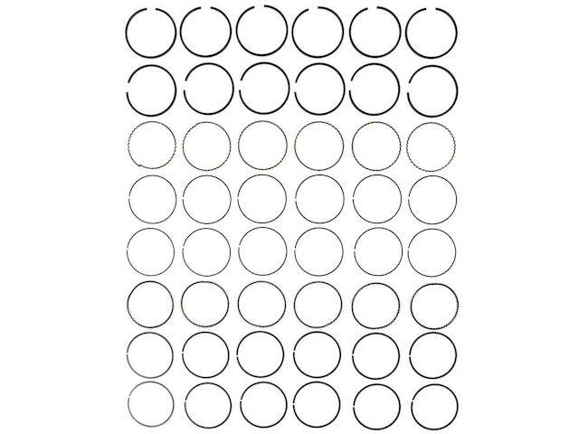 For 1993-2002 Mazda 626 Piston Ring Set Mahle 72331BF 1994