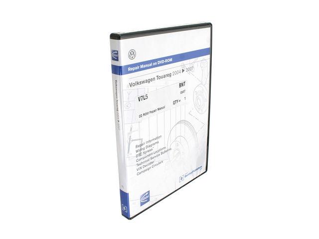 For 2004-2008 Volkswagen Touareg CD ROM Repair Manual