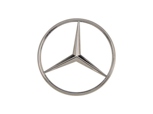 For 1986-1991 Mercedes 560SEC Emblem Genuine 86877GP 1989