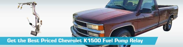 1987 Chevy 1500 Fuel Pump Relay