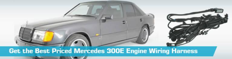 1993 Mercedesbenz 400sel Engine Wiring Harness Genuine