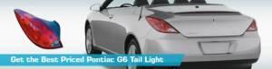 Pontiac G6 Tail Light  Taillights  Action Crash Dorman