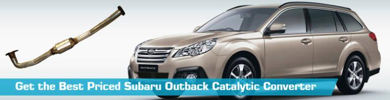 subaru outback catalytic converter