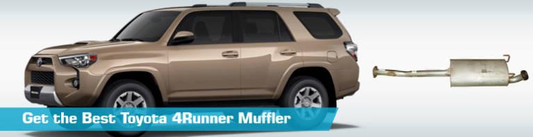 toyota 4runner muffler mufflers